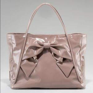 Valentino Garavani Betty Bow Tote Beige